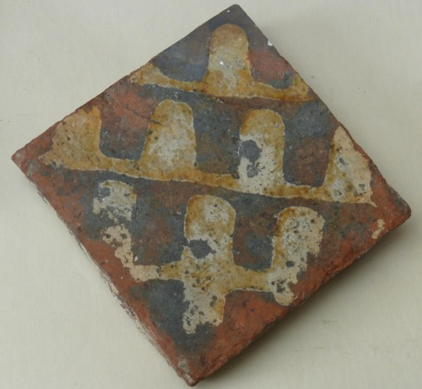 Westminster floor tile 14th century