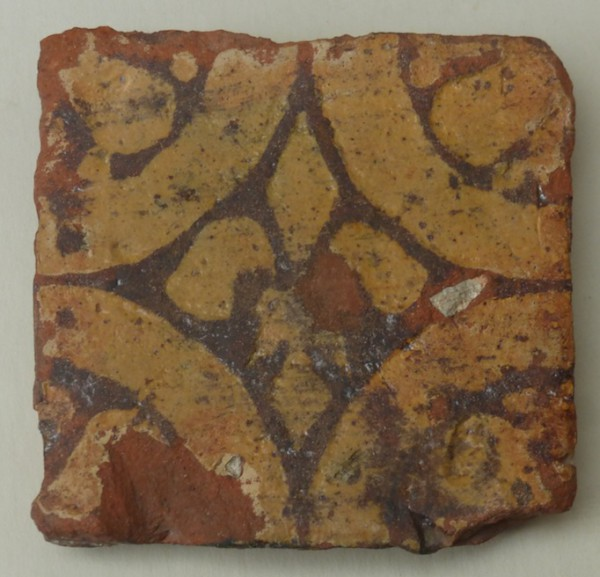 14th century Penn(Bucks) floor tile