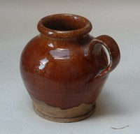 Small slipware jar