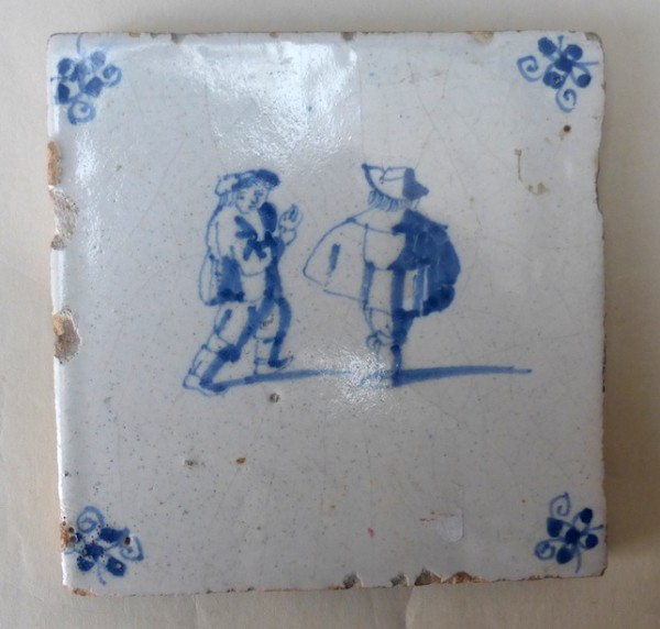 Dutch blue and white tile