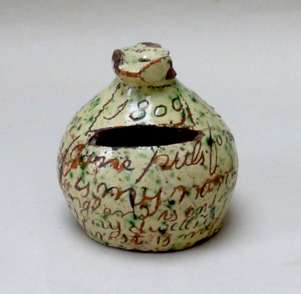 Donyatt Money Box dated 1805