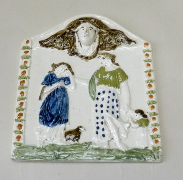 Classical Pearlware Pearlware Plaque