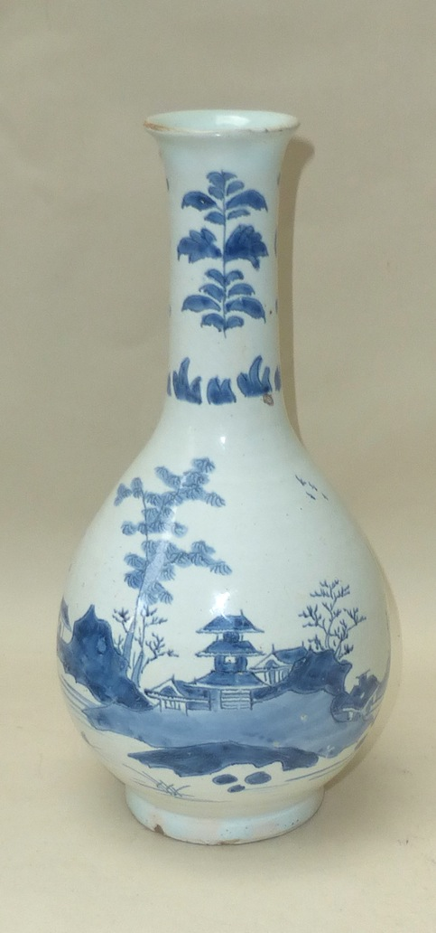 English Delftware Bottle