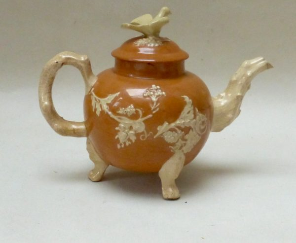 Cream Coloured Earthenware Teapot