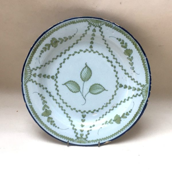 Unusual English Delftware Plate