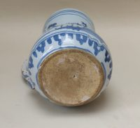 English Delftware Chinoiserie Decorated Mug