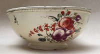 Small Creamware Punch Bowl