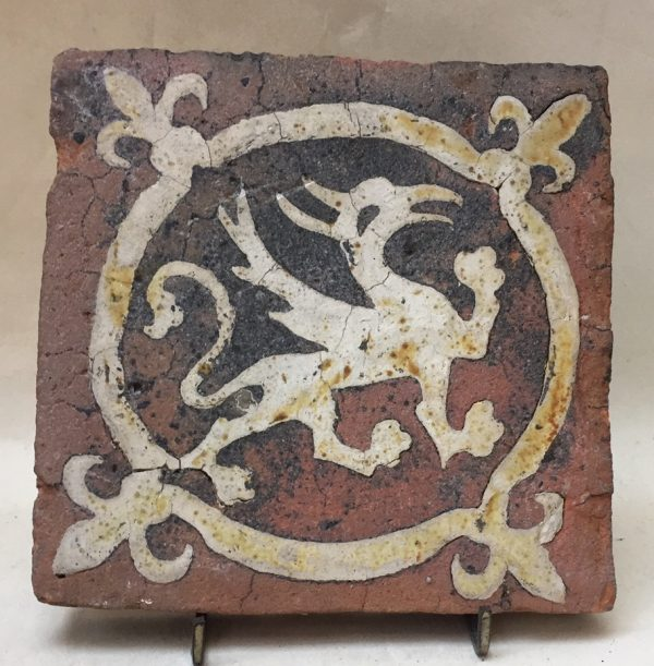 14th Century Floor tile Wessex