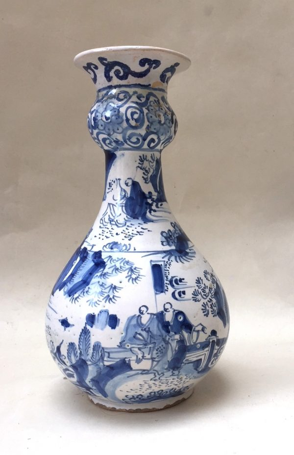 Early English Delftware Bottle