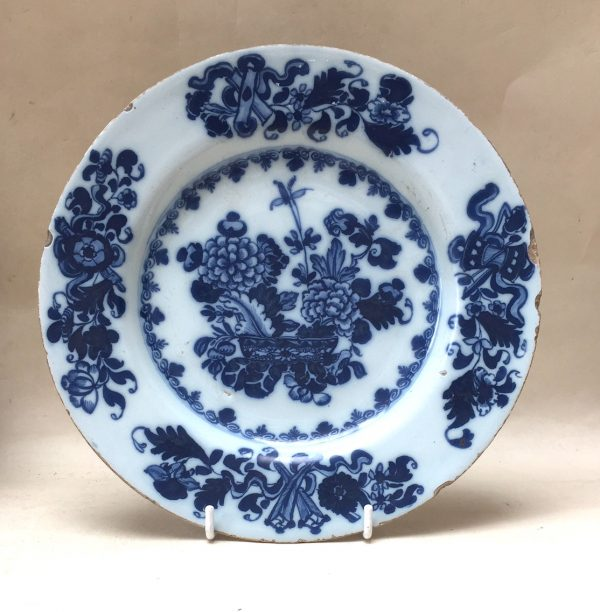 Irish Delftware Plate