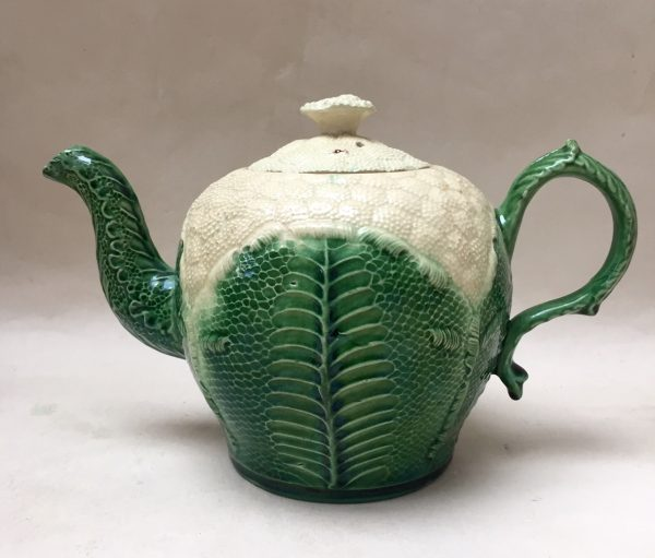 Cauliflower Teapot and Cover